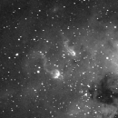 IC410 in H-alpha